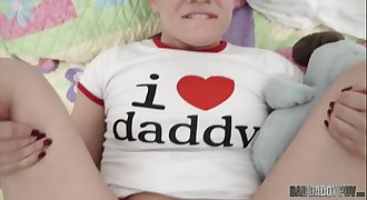 For FATHER'_S DAY Play Time, She Wants Daddy'_s Dick