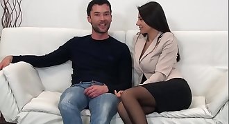 Sofia Cucci and the hot porn casting