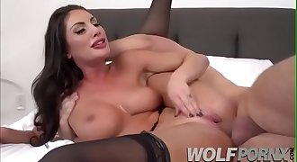 My wifey  August Ames likes me to flip it and then I fuck her.EslavesBondage